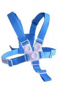 Kšíry (bezpečnostní popruhy) modré k chytré židli Sedees