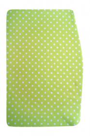 Podsedák zelený s puntíky na chytrou židli Sedees