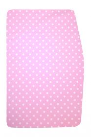 Podsedák růžové puntíky - dětská rostoucí židle Sedees