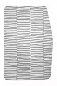 Podsedák šedo-bílé pruhy na chytrou židli Sedees