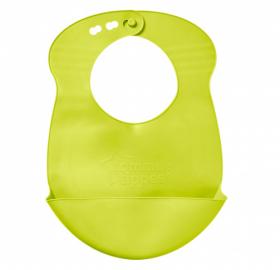 Rolovací plastový bryndáček Explora - zelený