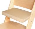 Béžový podsedák na přírodní rostoucí židli Sedees
