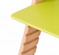 Drážky blízko sebe pro plynulé nastavování - chytrá židle Sedees