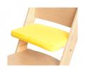 Žlutý podsedák na přírodní rostoucí židli Sedees