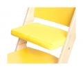 Žlutý podsedák na žluté rostoucí židli Sedees