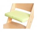Zelený podsedák na přírodní rostoucí židli Sedees