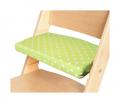 Podsedák zelené hvězdičky na přírodní rostoucí židli Sedees