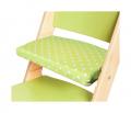 Podsedák zelené hvězdičky na zelené rostoucí židli Sedees
