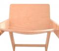 Prohnutá opěrka - dětská rostoucí židle Sedees