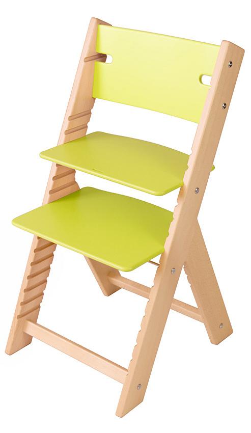 Chytrá rostoucí židle Sedees Line zelená