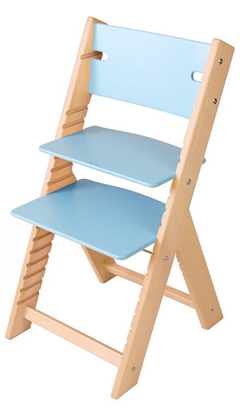 Chytrá rostoucí židle Sedees Line modrá