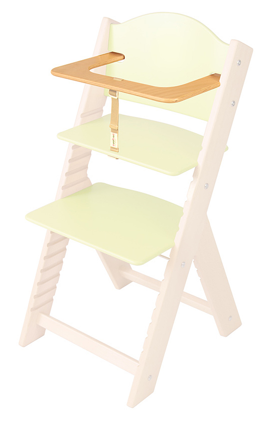 Ohrádka k chytré rostoucí a jídelní židličce Sedees - přírodní lakovaná