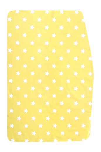 Sedees-Podsedák žlutý s hvězdičkami na chytrou židli Sedees