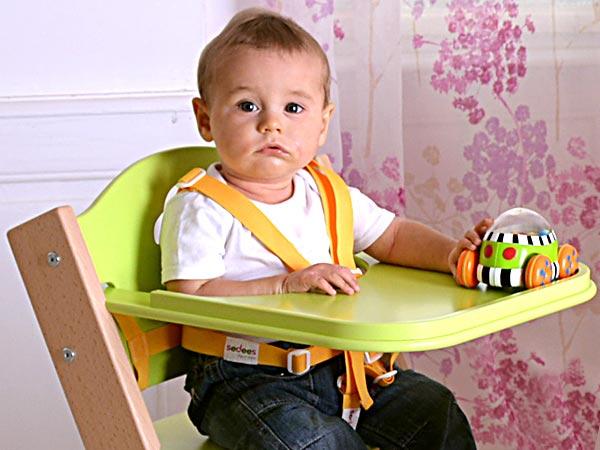 Bezpečnostní popruhy/kšíry k chytrým židlím Sedees